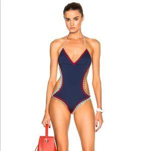 KIINI Tasmin Mono Maillot One Piece Navy Swimsuit